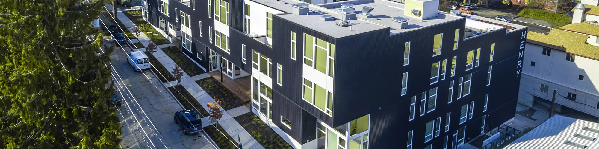 Nice Henry New Apartments In Quiet Queen Anne Seattle   1 Bedroom Apartments  Seattle